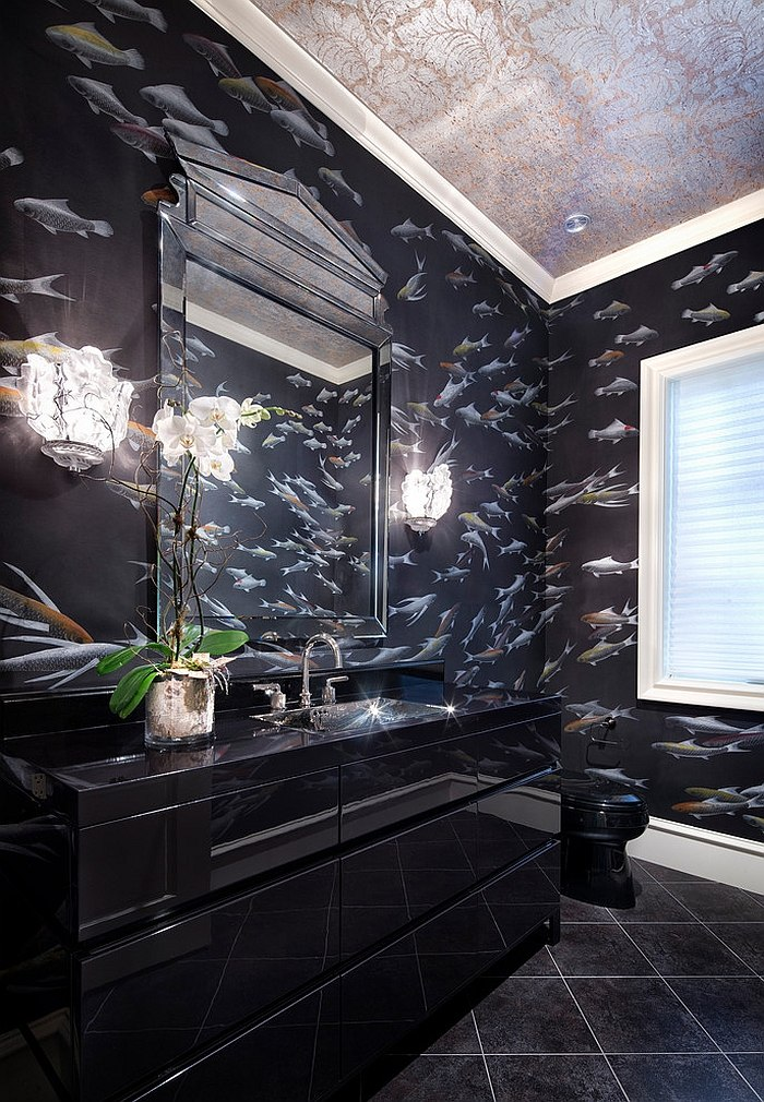 Czarna łazienka – innowacja w twoim mieszkaniu!